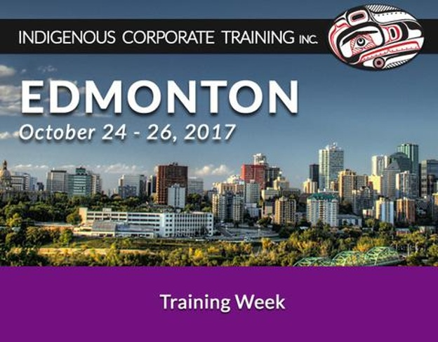 Edmonton Working Effectively with Indigenous Peoples Training Week