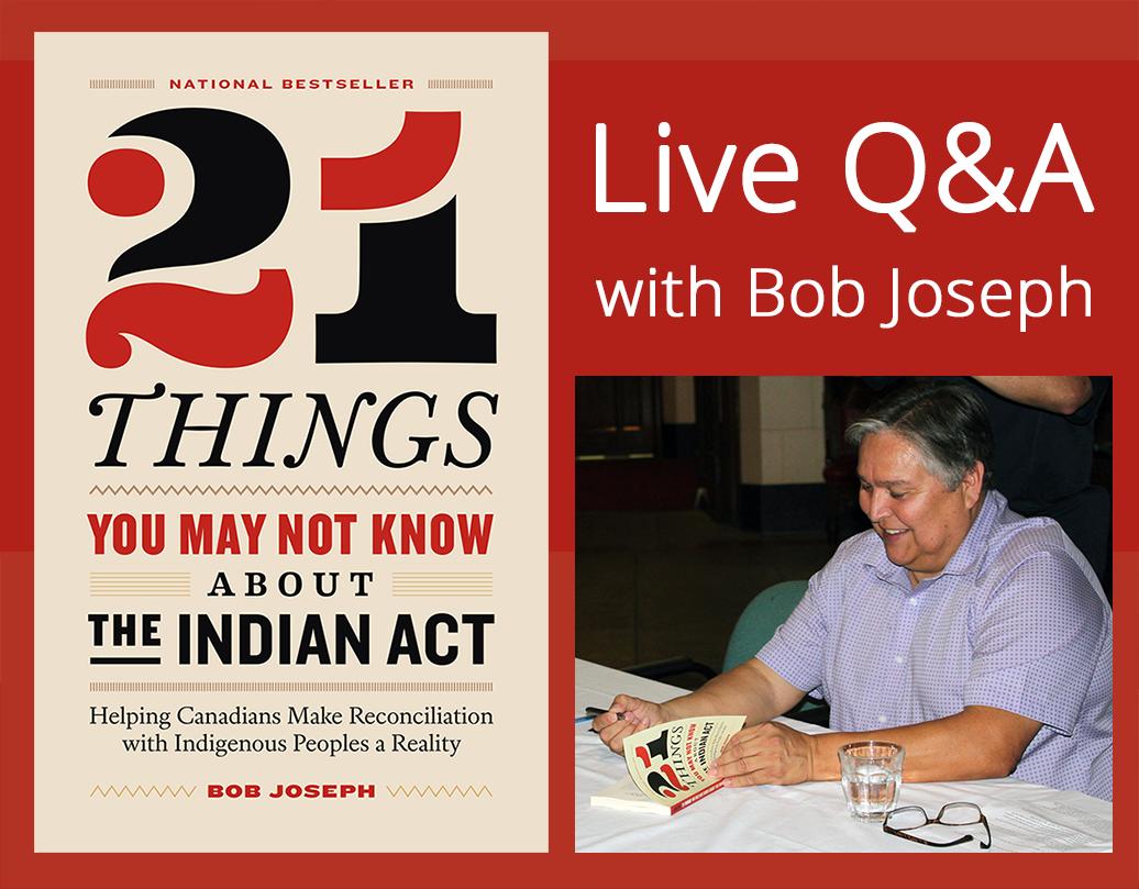 Live Q&A with Bob Joseph