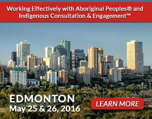 Edmonton Working Effectively with Indigenous Peoples Training 2016