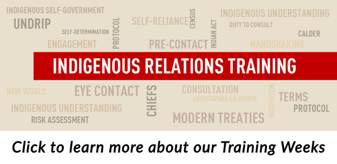 Toronto Working Effectively with Indigenous Peoples Training Week