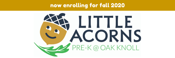 little acorns pre-K program call to action button