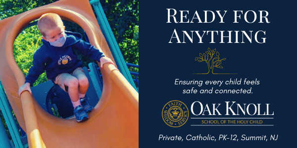 oak knoll school ready for anything ad
