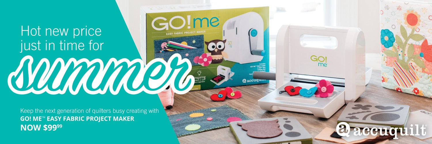 GO! Me accuquilt fabric cutter low price