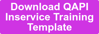 Download QAPI Inservice Training