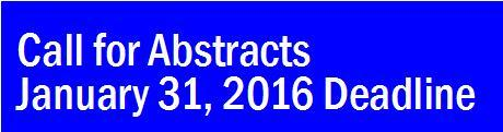 Abstract Submission Form January 31, 2016 Deadline