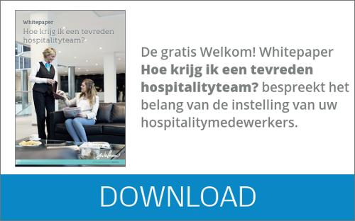 Welkom! - whitepaper Hoe krijg ik een tevreden hospitalityteam?