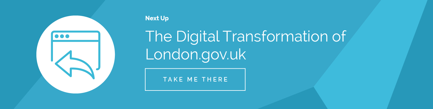 The Digital Transformation of London.gov.uk