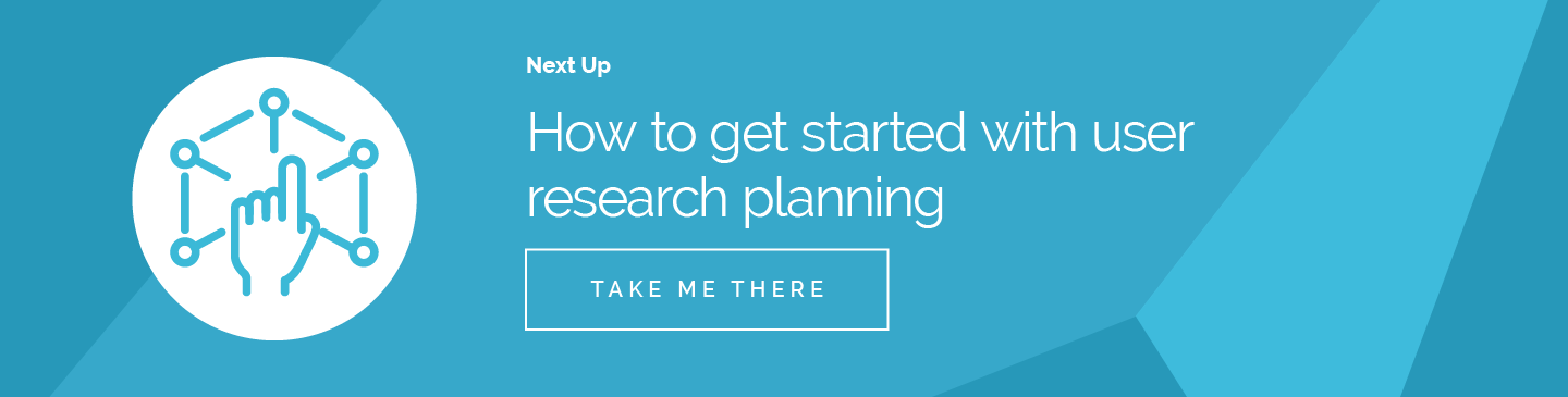 How to get started with user research planning