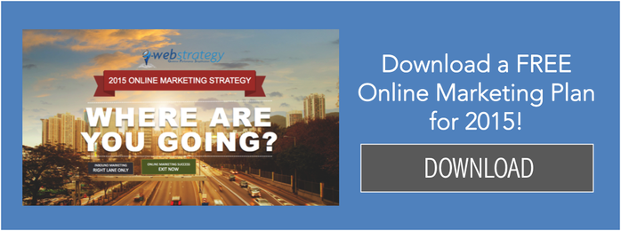 2015 Online Marketing Strategy