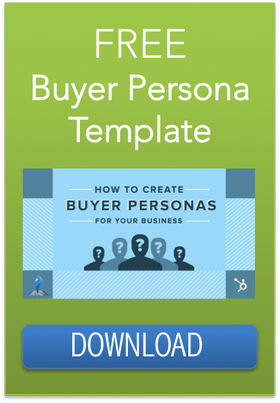 buyer persona development template