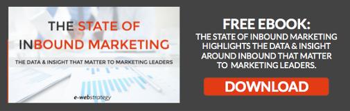 state of inbound marketing - inbound marketing trends