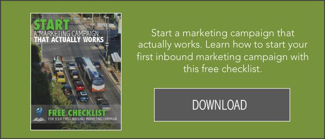 Download A Free Inbound Marketing Campaign Checklist