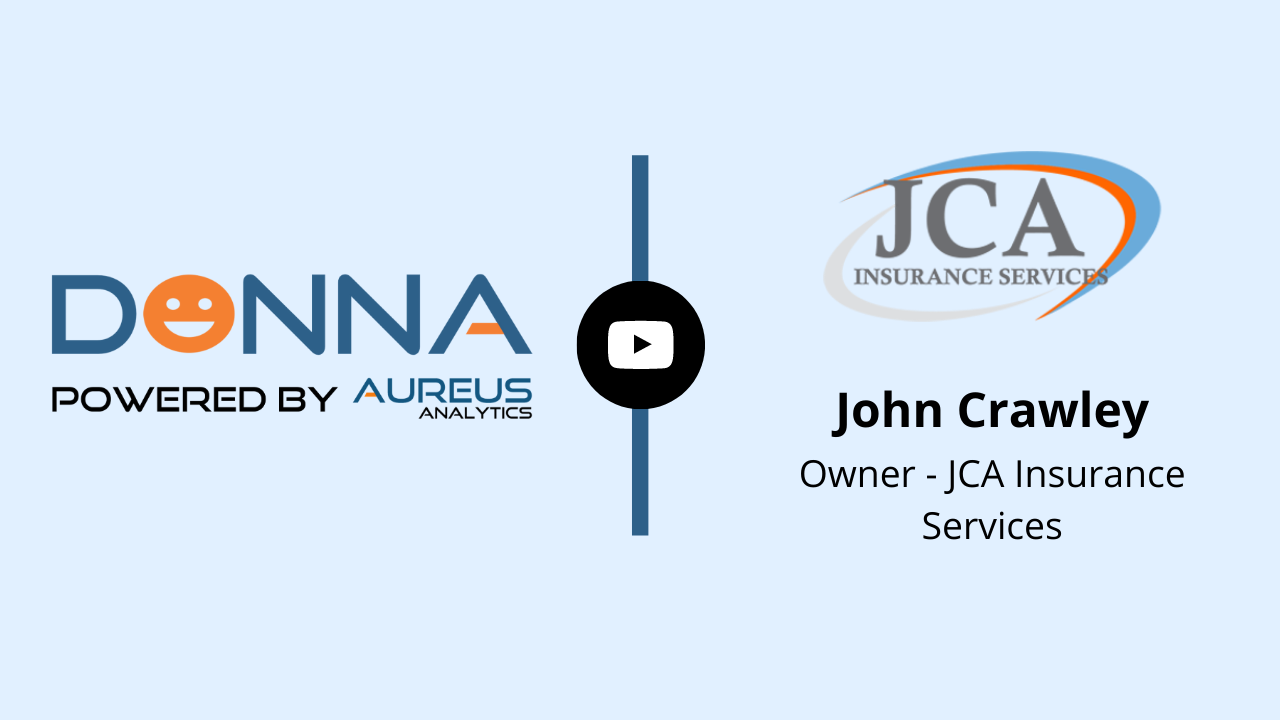 DONNA Customer Testimonial JCA Insurance Services