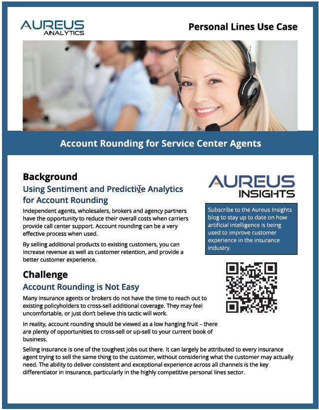 Aureus Cross-Sell and Upsell case study