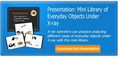 Mini Library of Everyday Objects Under X-ray Presentation