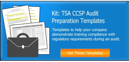 TSA CCSP Audit Preparation Template Kit