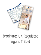 UK Regulated Agent Trifold Brochure