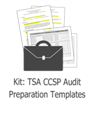 TSA CCSP Audit Preparation Template Kit