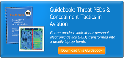 Threat PEDs & Concealment Tactics in Aviation Guidebook