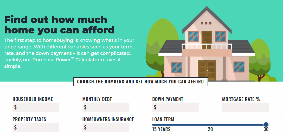 How much home you can afford