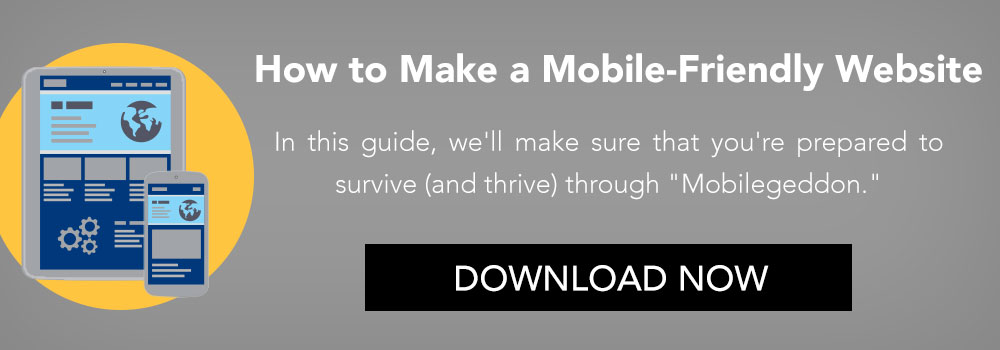 How To Make A Mobile Friendly Website CTA