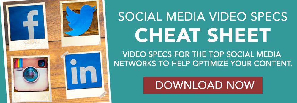 Social Media Video Specs CTA