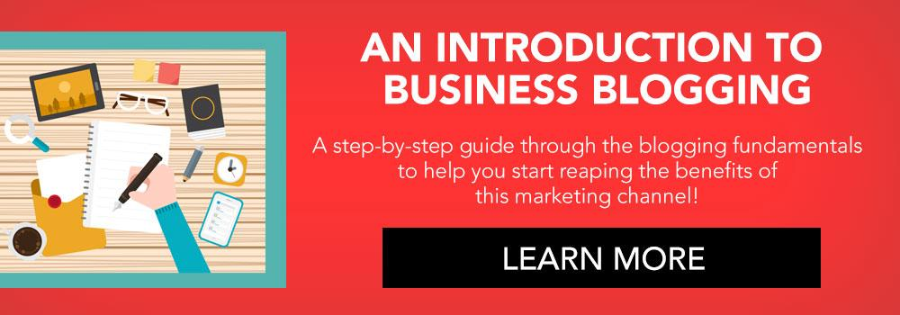 Introduce Your Business To Blogging