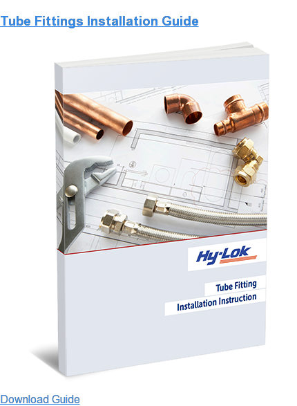 Tube Fittings Installation Guide Download Guide