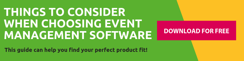 Thins to consider when choosint event management software - click to download