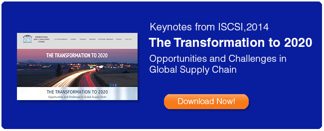 Summary Keynotes from International Supply Chain Summit Istanbul