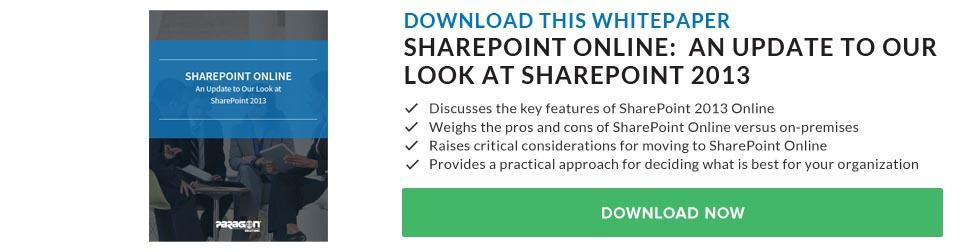 SharePoint Online Whitepaper