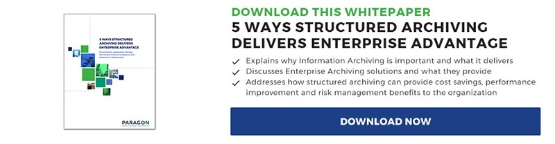 WP - 5 Ways Structured Archiving Delivers Enterprise Advantage