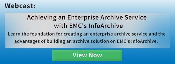 Achieving an Enterprise Archive Service Webcast