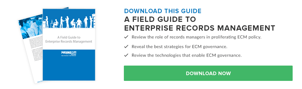 A Field Guide to Enterprise Records Management