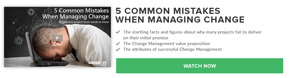 5 Common Mistakes When Managing Change Webcast