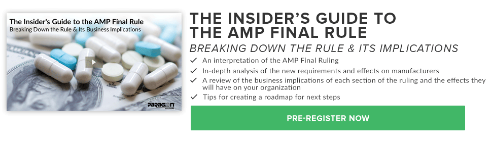 The Insider's Guide to the AMP Final Rule