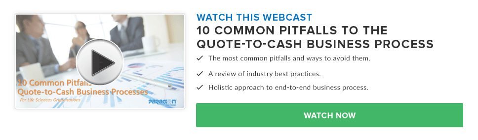10 Common Pitfalls in Quote-to-Cash Business Processes For Life Sciences Organizations