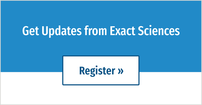 Get Updates from Exact Sciences