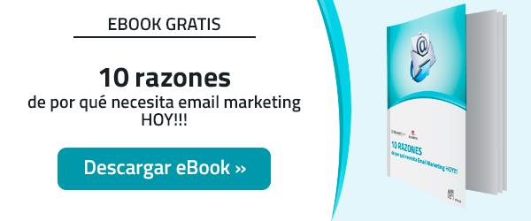 10 Razones de por qué necesita un servicio de Email Marketing