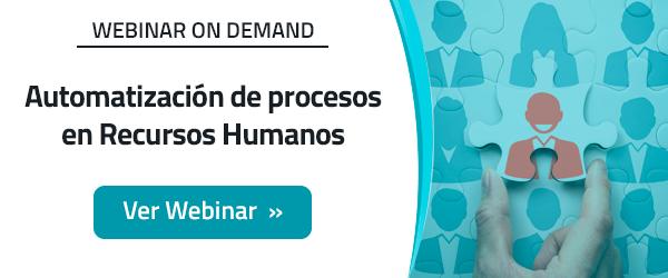 Automatización de procesos en recursos humanos