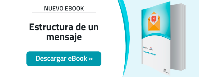 Estructura de un mensaje en Email Marketing