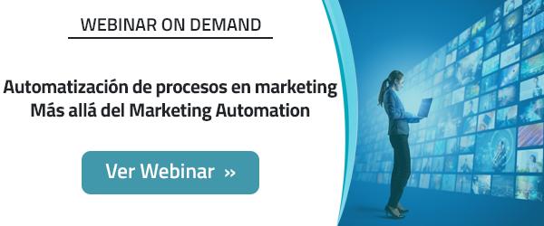 Automatización de procesos en marketing Más allá del Marketing Automation