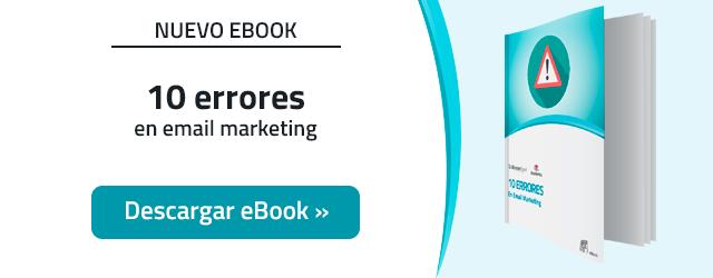 10 Errores en Email Marketing (y cómo evitarlos)