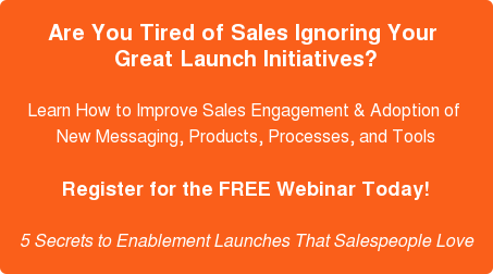 Sales Webinar: 5 Secrets to Sales Enablement Launches That Salespeople Love | CommercialTribe