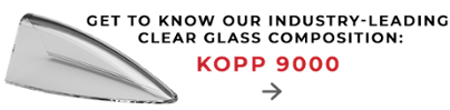 Get to know our class clear glass composition: Kopp 9000