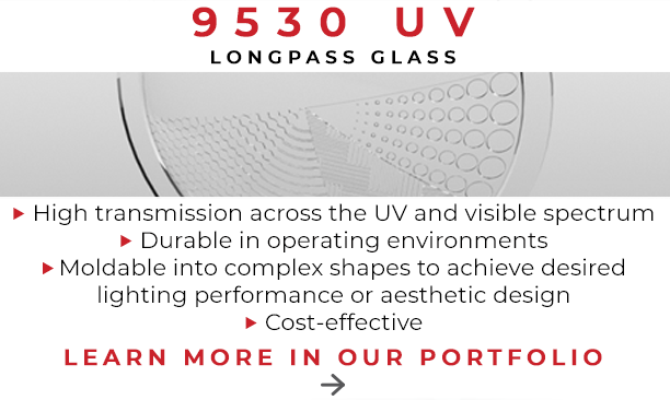 9530 UV Longpass Glass Portfolio