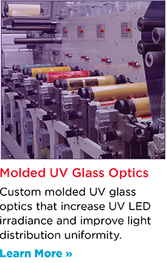 UV Longpass Filter Glass for UV Curing Glass Optics