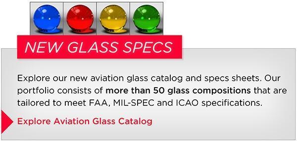 Aviation Glass Catalog Spec Sheets