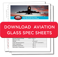 Aviation Glass Spec Sheets