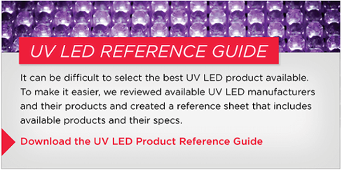 UV LED Product Reference Guide